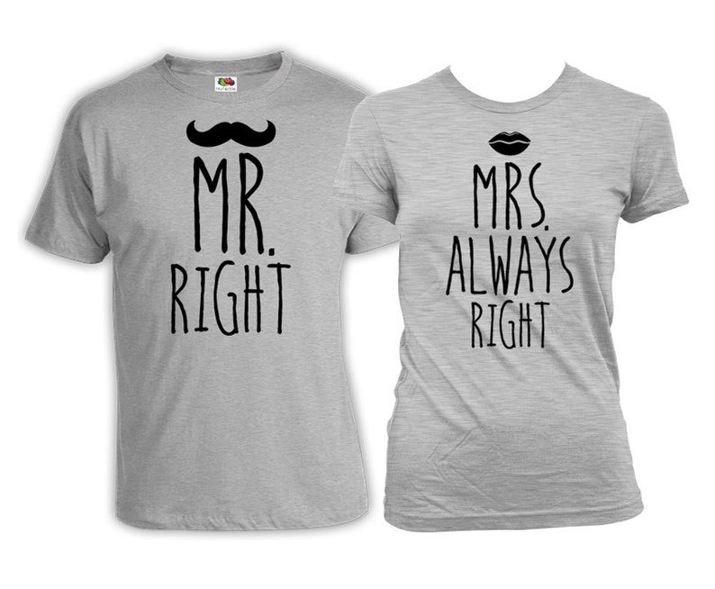 fe58be3d13 His And Her Shirts Bride And Groom Gifts Wedding T Shirts   Etsy