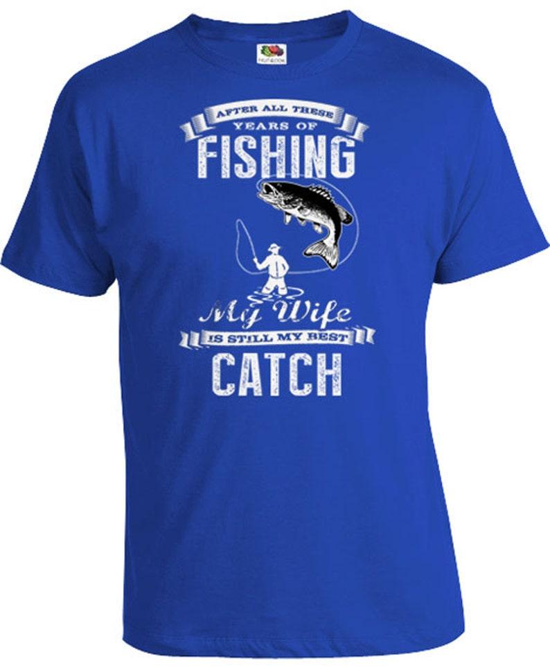 3e928c465de9 Funny Fishing T Shirt Fisherman Gift From Wife Nature Shirt | Etsy