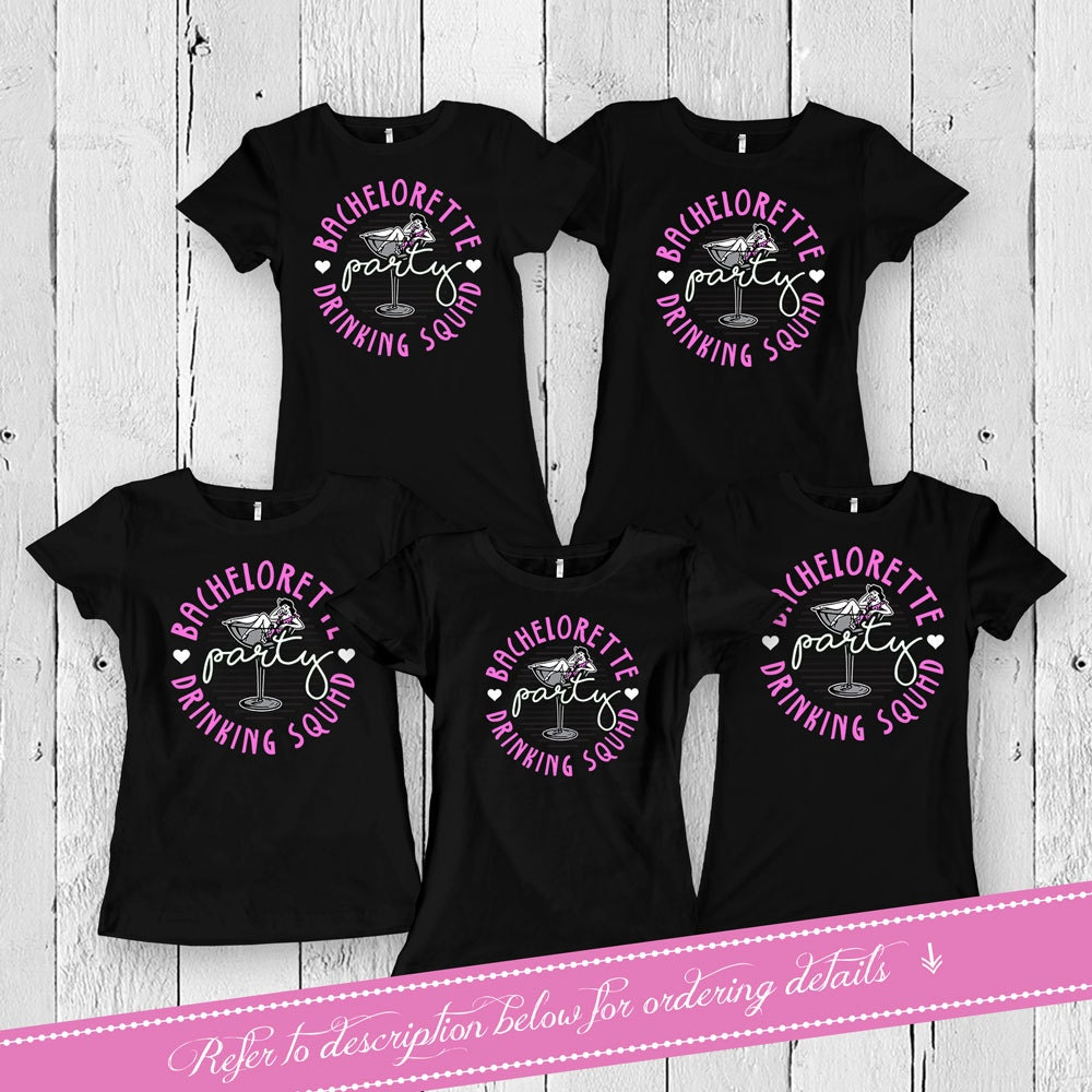 Bachelorette Party T Shirts Bridal Party Gifts Bride And