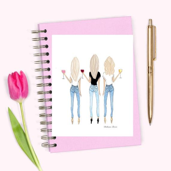 Trois Blondes Dessin 3 Blondes Meilleures Amies Trois Colocataires Blondes Blond Meilleur Ami Cadeau De Meilleur Ami Cadeau D Un Ami Sœurs
