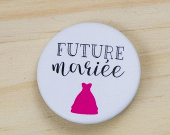Bachelorette party bride Future badge