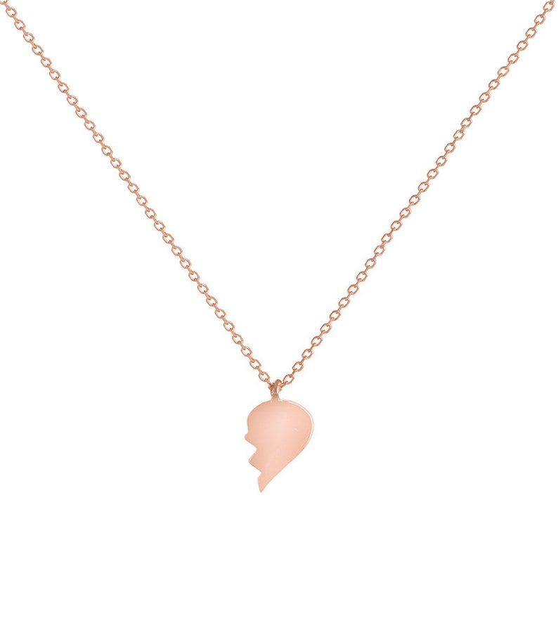 unique mothers day gift Single wing necklace in yellow gold Angel half wing everyday necklace Dainty 14k solid gold thin chain