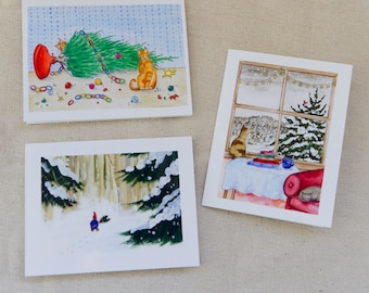 Holiday Greeting Card Assortment (Package of 6)