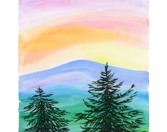 The Mountain Greeting Card (Package of 5)