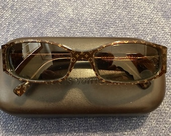 54c6326dfb8 Rare Vintage Louis Vuitton Monogram Sunglasses