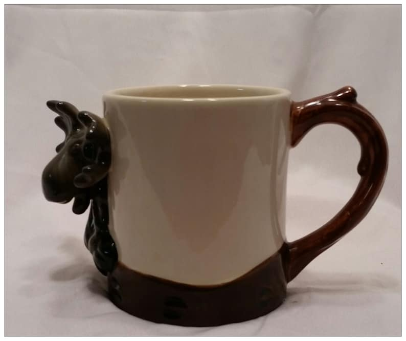 Collectible Mugcup Coffee Mooses Sky Novelty Bearfoots Big Carvers BrxoeWCd