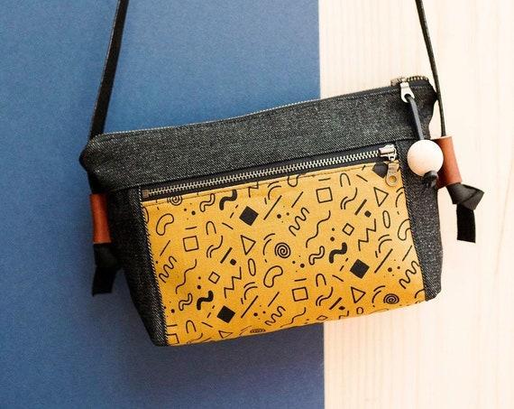 Screenprinted Shoulder Bag