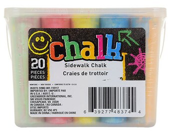 Sidewalk Chalk, 20-ct. Boxes