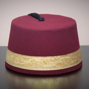 gift hat,authentic,costume Velvet Felt Fez Hat Shriner Turkish Casablanca Moroccan Cap Costume Accessory Mini Doctor Who Fez Hat,gift