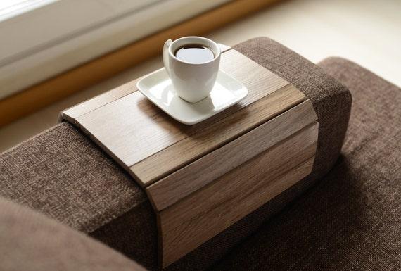 Sofa Tablett Tisch Handgefertigt Sofa Arm Tablett Armlehne