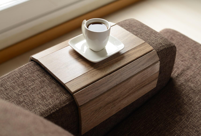Sofa tablett tisch handgefertigt sofa arm tablett armlehne - Sofa tablett tisch ...