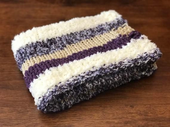 Chunky Knit Blanket Bernat Home Bundle Blanket Yarn Baby Etsy Interesting Bernat Home Bundle Yarn Patterns