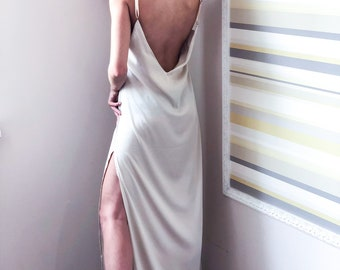 be6e9a0236 long silk nightgown