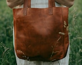 Women 39 s large leather tote bag, Utility Bohemian Leather Bag, Soft Lambskin Handmade Leather, All Purpose Soft Leather Tote, Gift for Her
