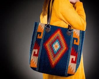 ee88eb5b73dd Southwestern Wool Bag