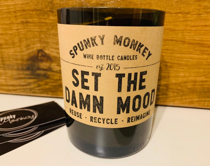 MOOD Wine Bottle Candle