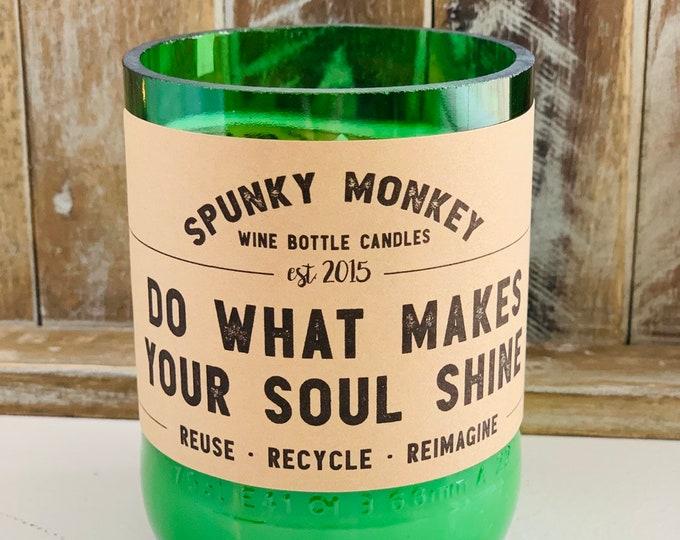 SOUL SHINE Wine Bottle Candle