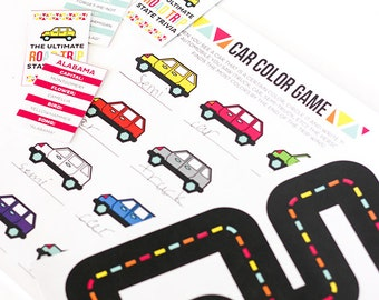 Ultimate Road Trip Printable Set Over 40 Pages!
