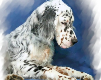 English Setter #2 Note Cards
