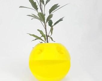 3D Printed Pac-Man Flower Pots by 3D Cauldron