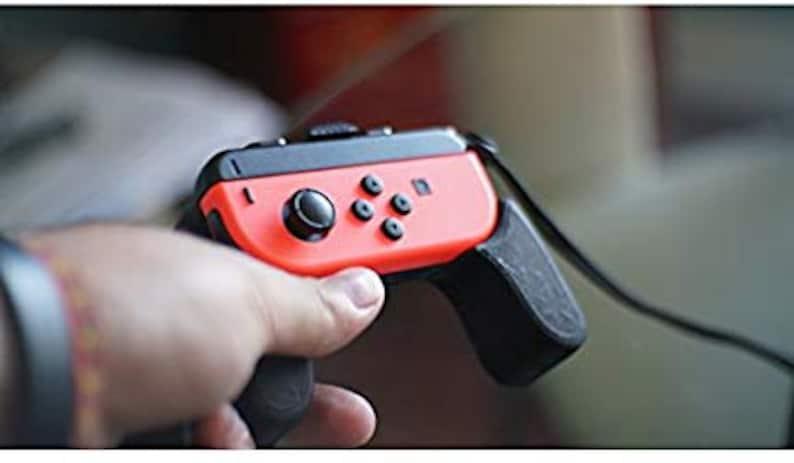 Nintendo Switch Joycon Thick Grip Set 3D Printed By 3D Cauldron