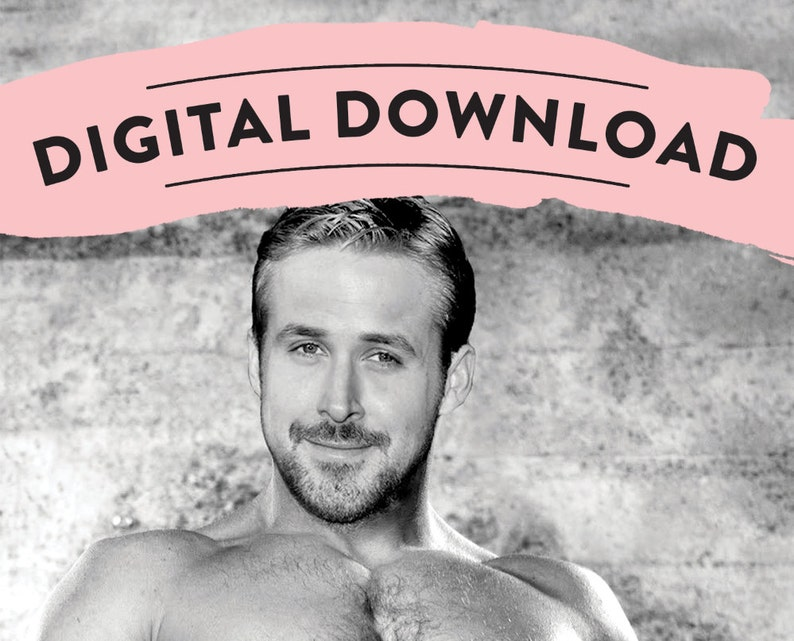 graphic about Pin the Junk on the Hunk Printable known as Obtain - Ryan Gosling - Pin the Junk upon the Hunk - NSFW - Bachelorette Social gathering Activity