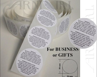5cm round General WARNING LABELS for CANDLE making all crafts Jar Tin Pillar Container Candles 50mm Instruction Stickers 50 100 250 1000