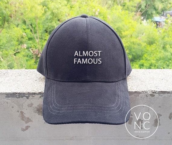 Casquillo de béisbol casi famoso sombrero bordado sombrero  5d3991df1c7