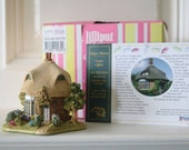 Ex Stock Boxed Lilliput Lane Sugar Mouse English Thatched Cottage Old Shop Stock New with deeds