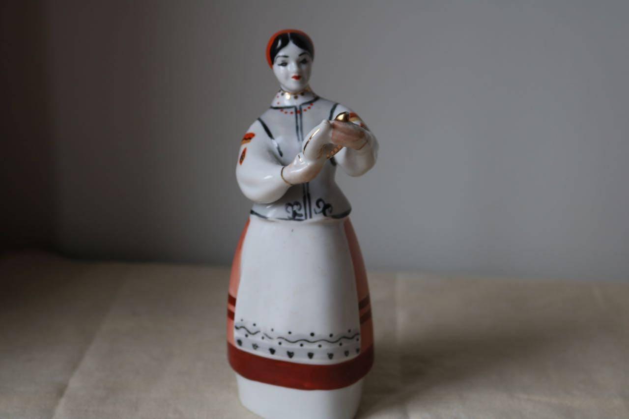 russie ukraine polonye porcelaine lady et une th i re etsy. Black Bedroom Furniture Sets. Home Design Ideas