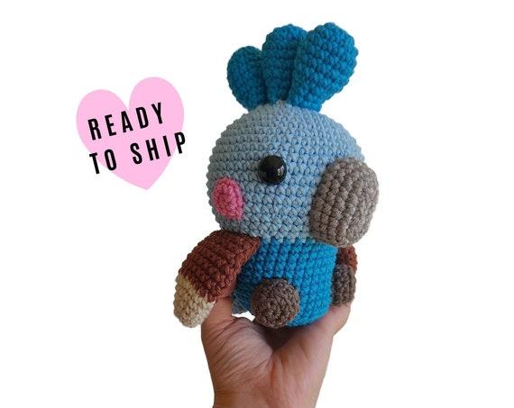 HANDMADE CROCHET Cockatiel •  Amigurumi bird • Stuffed cockatoo • Aussie birds • Australian animals • CrochetByKim • Ready to ship