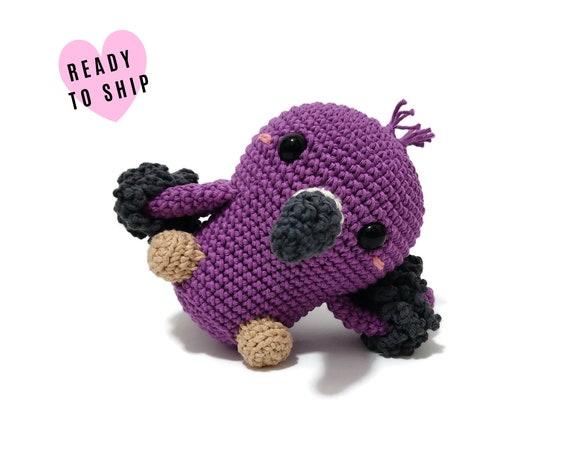 HANDMADE CROCHET Baby Flamingo Bird • Amigurumi bird • Flamingo plush • Knitted bird • Tropical bird • CrochetByKim • Ready to ship