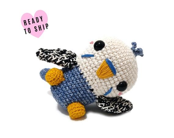 HANDMADE CROCHET Budgie •  Amigurumi bird • Stuffed Budgerigar • Tropical bird • Parakeet Parrot • CrochetByKim • Ready to ship