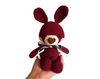 Lolly the little Bunny - Crochet Bunny - Bunny Amigurumi - Stuffed Animals - Stuffed Toys - Handmade - zipzipdreams - ready to ship