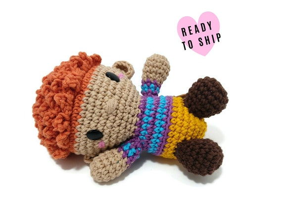 Handmade crochet boy doll • RUTGER the doll • amigurumi doll • handmade doll • interior doll • stuffed doll • Ready to ship