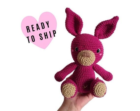 Handmade crochet amigurumi KALULU the bunny • LARGE AMIGURUMI • easter bunny • Stuffed doll bunny • konijn • conejito • Ready To Ship
