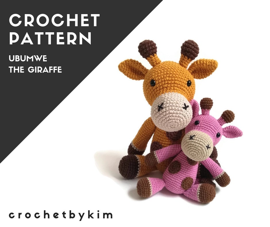 Hearty Giraffe amigurumi pattern - Amigurumi Today | 788x940
