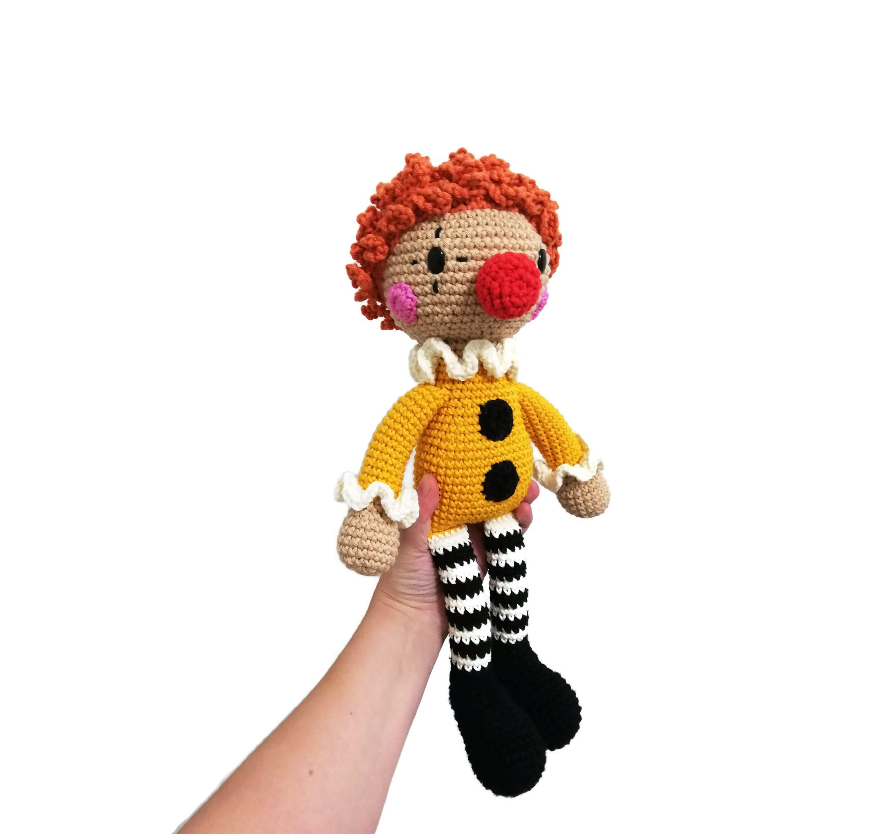 Clown Pattern Free Amigurumi ⋆ Crochet Kingdom | 2876x3000