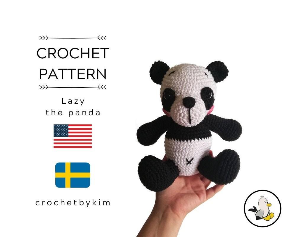 9 Crochet Panda Patterns – Cute Amigurumi Bear Toys - A More ... | 800x1000