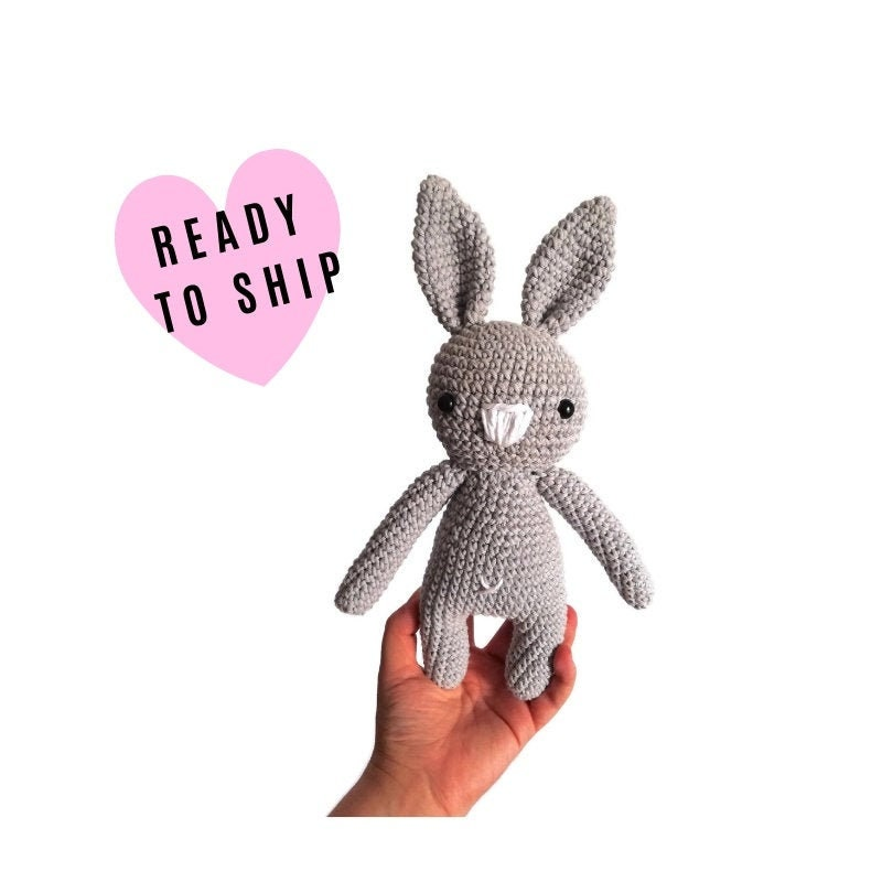 Pink Crochet Bunny, plush soft bunny, amigurumi bunny, pink ... | 800x800