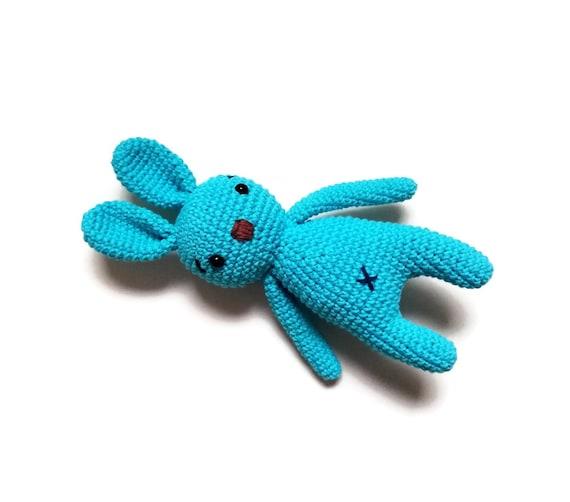 Crochet bunny - stuffed animal - bunny - easter bunny - handmade - plush - cotton - amigurumi - rabbit doll