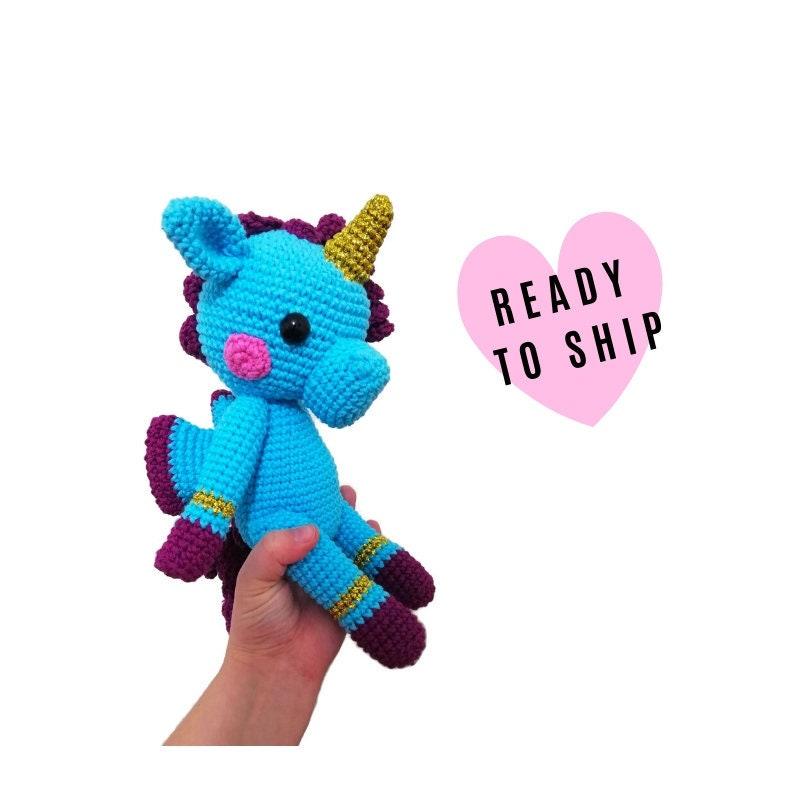 Plush Unicorn Toy Crochet Unicorn Doll Unicorn Toy Stuffed Unicorn ... | 800x800
