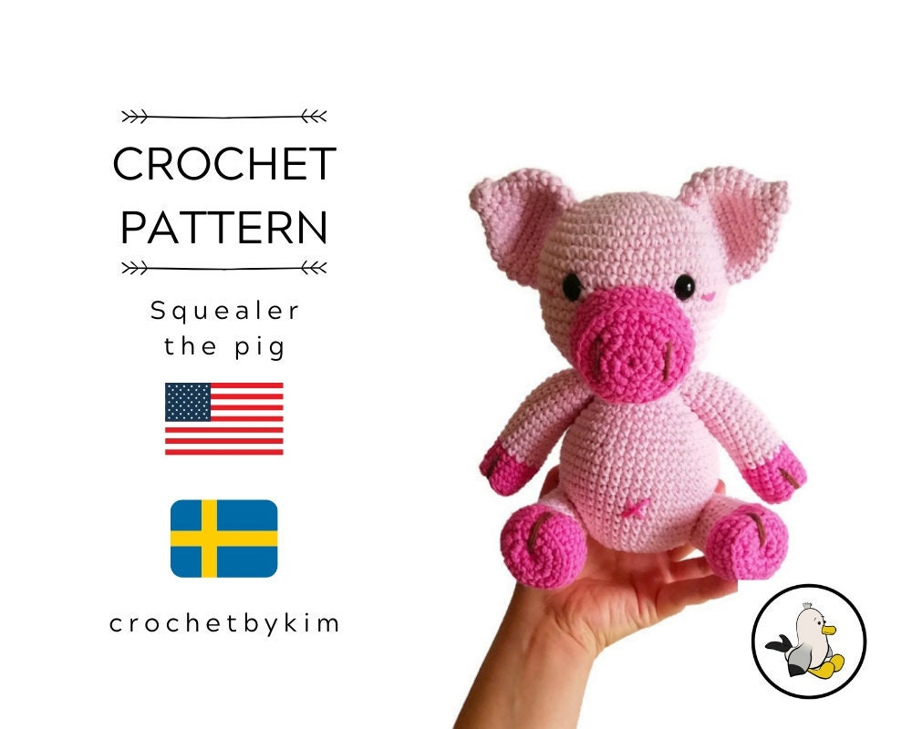 Crochet Pig Pattern - Lots Of Cute Ideas | The WHOot | 800x1000
