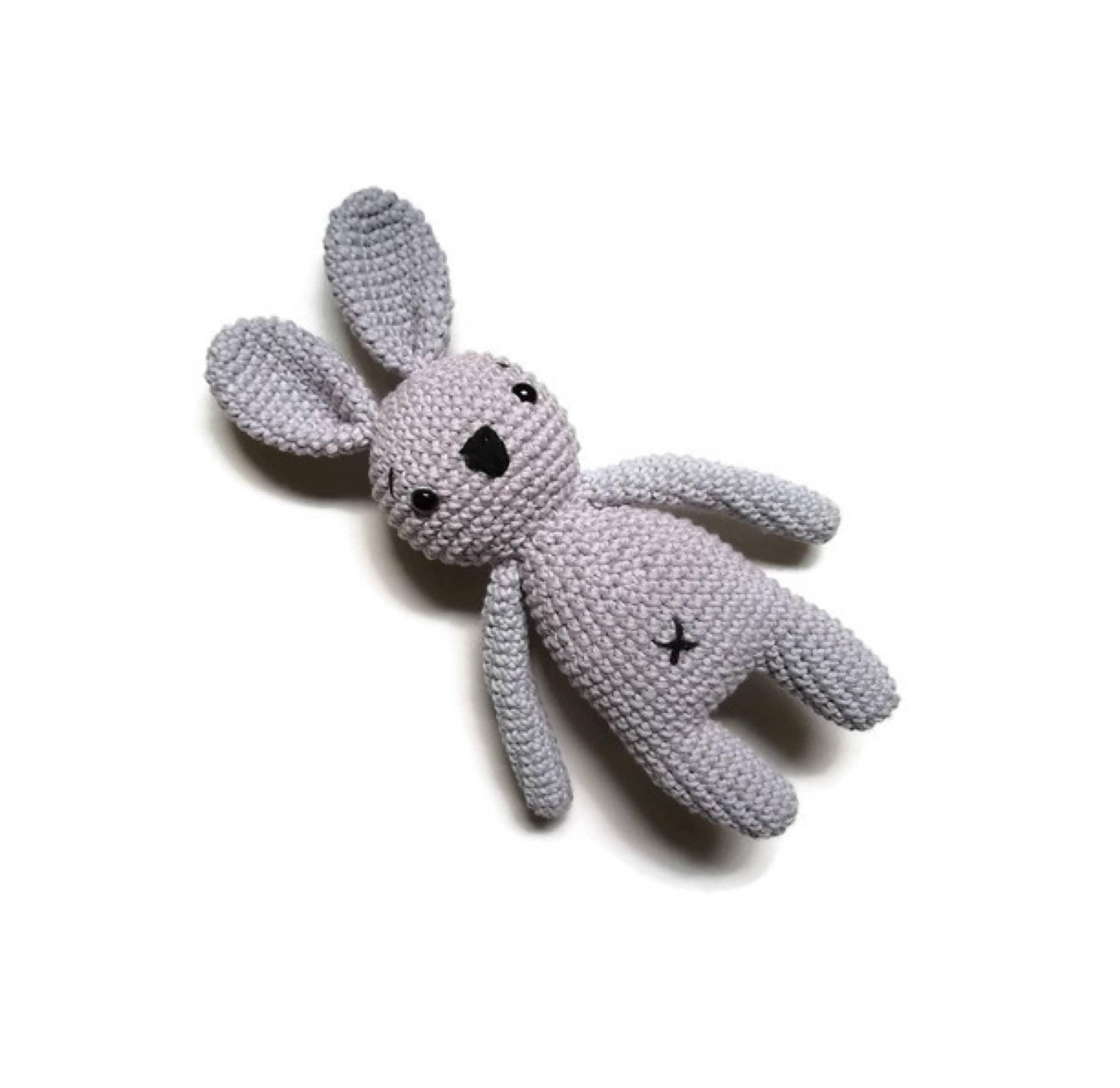 A508-3 Easter Bunny Plush Toy Amigurumi Bunny Rabit Toys Crochet ... | 2350x2417
