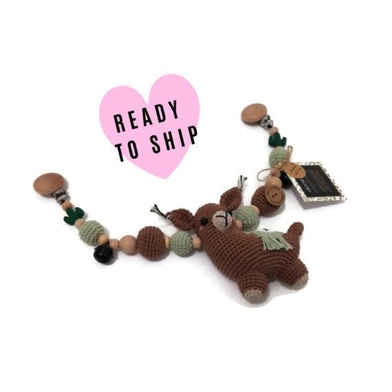 STROLLER CHAIN • amigurumi llama alpacka  • animals • crochet pram garland • kinderwagenkette • wagenspanner • Ready To Ship