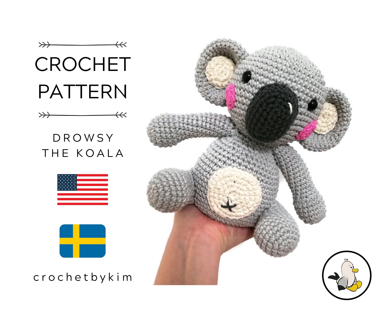Amigurumi Crochet Tutu amigurumi Koala crochet – Amigurumi Patterns | 2400x3000