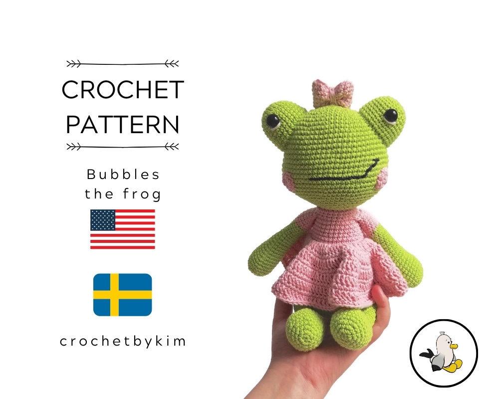Free Amigurumi Crochet Frog Patterns (BONUS FREE PATTERN) Crochet ... | 800x1000
