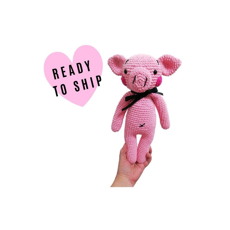 Amigurumi Pig - A Free Crochet Pattern - Grace and Yarn   800x800