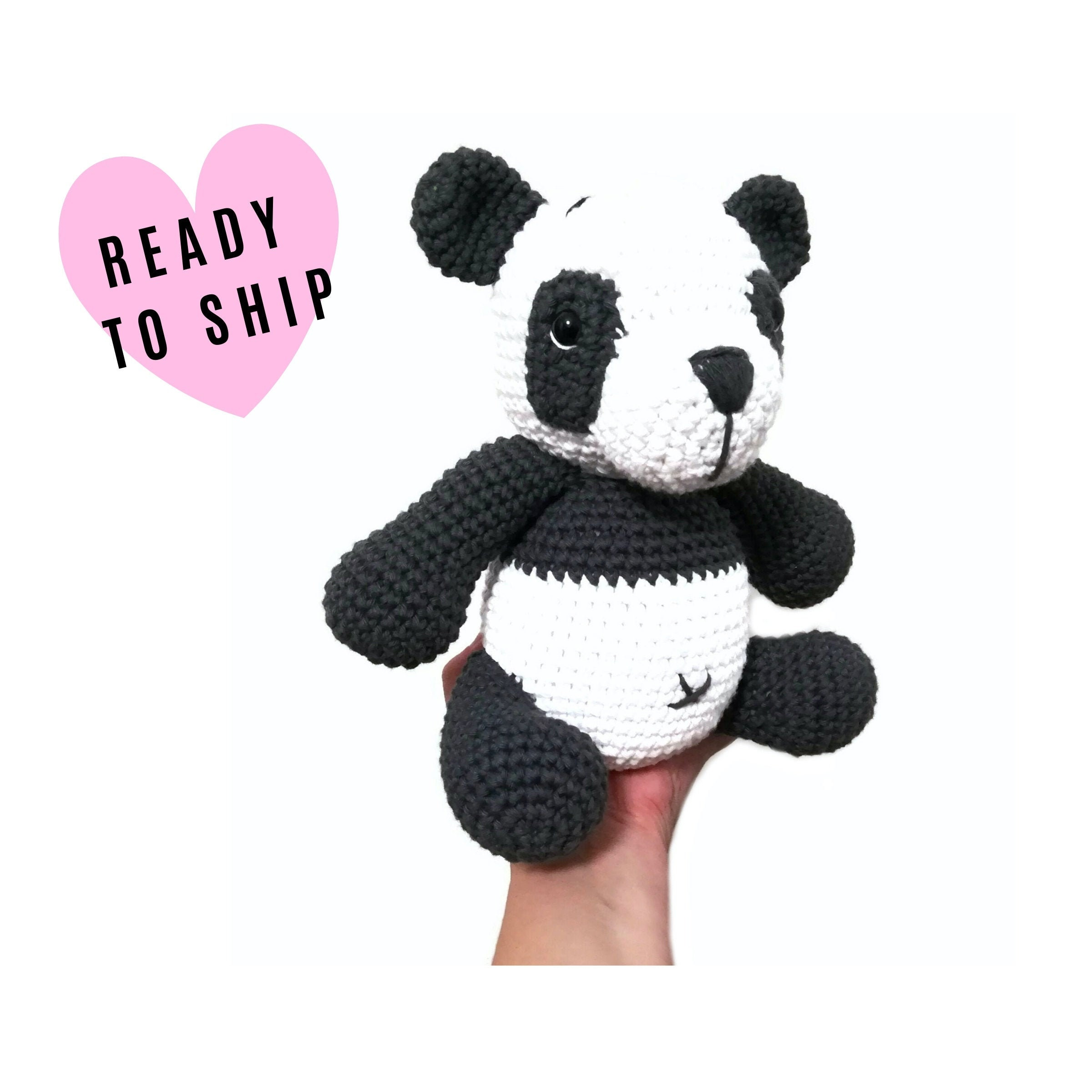 Cute Crochet Panda Free Patterns | 2400x2400