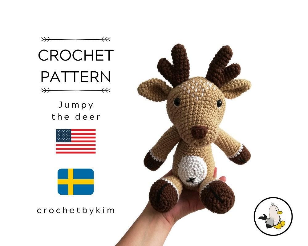 PATTERN: Devin the Deer - Crochet deer pattern - amigurumi deer ...   800x1000